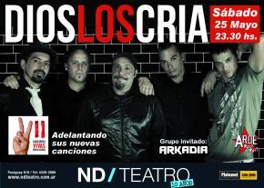 |Entrevista| DIOS LOS CRÍA regresa al Teatro NDAteneo