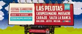 Festival Clandestino: El rock en su mejorexpresión!