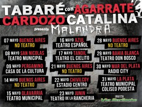 TABARÉ CARDOZO presentaMALANDRA