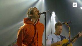 Liam Gallagher cantó junto a Coldplay en el evento solidario #OneLoveManchester
